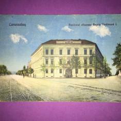 Caransebes - Pavilionul Ofitieresc - Carte Postala Banat 1904-1918, Circulata, Fotografie