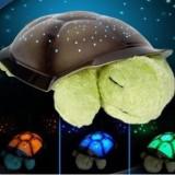Lampa de veghe copii Proiector tavan broscuta testoasa muzicala + cablu USB - Lampa veghe copii Altele, Multicolor