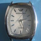 CEASURI DE MANA VINTAGE 3-Emporio Armani quartz-ceas mana barbat functional. - Ceas barbatesc Armani, Lux - sport