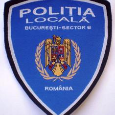 5.523 ROMANIA ECUSON POLITIA LOCALA BUCURESTI SECTOR 6 112/94mm