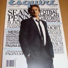 Revista ESQUIRE / Noiembrie 2007 - Revista barbati