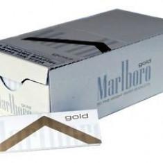 Foite Marlboro Gold pentru rulat tutun, tigari - Foite tigari