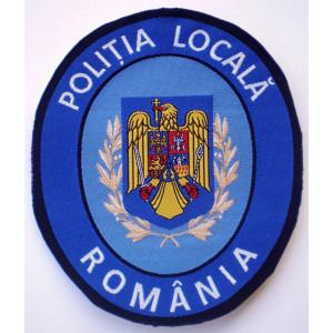 5.522 ROMANIA ECUSON POLITIA LOCALA 108/94mm