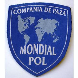 5.525 ROMANIA ECUSON COMPANIA DE PAZA MONDIAL POL 93/79mm