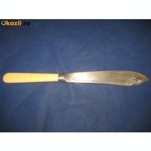 DIFERITE TACAMURI VECHI-1-Polonic special alama pt sosuri cu maner argint-tat.