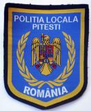 5.484 ROMANIA ECUSON POLITIA LOCALA PITESTI 100/82mm