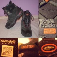 Ghete Bocanci ADIDAS GoreTex 42 2/3 = 27cm barbati impermeabili captuseala - Ghete barbati Adidas, Culoare: Din imagine