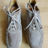Pantofi Geox Respira 100% piele naturala; marime 46 (30 cm talpic); impecabili
