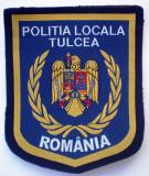 5.518 ROMANIA ECUSON POLITIA LOCALA TULCEA 100/83mm