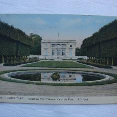 Carte postala circulata in anul 1913 - Versailles France, Printata, Franta