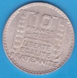 (2) MONEDA DIN ARGINT FRANTA - 10 FRANCS 1932, 10 GRAME, Europa
