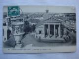 Carte postala circulata in anul 1912 - Saint Germain en Laye