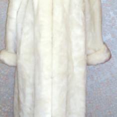 Haina din blana sintetica, retro, anii90 - haina de blana