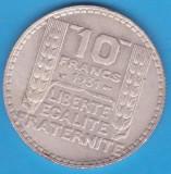 (2) MONEDA DIN ARGINT FRANTA - 10 FRANCS 1931, 10 GRAME