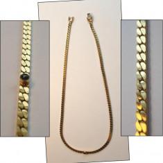 COLIER / LANT unisex, vechi, placat cu aur - SUPERB - Colier placate cu aur