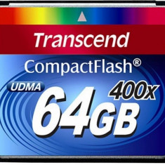 Vand Card Memorie TRANSCEND Compact Flash 64 Gb 400x, RS MMCDV