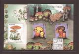 sao Tome e Principe - ciuperci - bl. 825/26