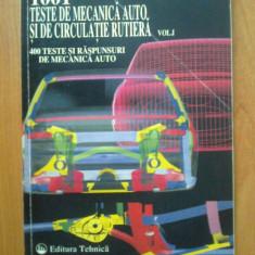 d8 Ion D. Manoiu - 1001 Teste de mecanica auto si de circulatie rutiera vol.I