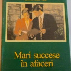 MARI SUCCESE IN AFACERI de ALEXANDRU MIU, 1999 - Carte Marketing