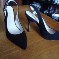 Pantofi Dama Boutique 9 marimea 37 - Pantof dama Calvin Klein, Culoare: Negru