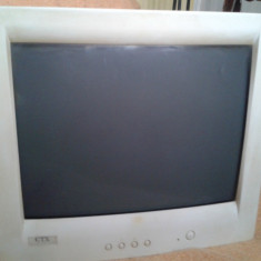 Monitor color CTX - Monitor CRT CTX, 17 inch
