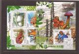 Burundi - ciuperci 2530/3+bl.230, Natura, Africa