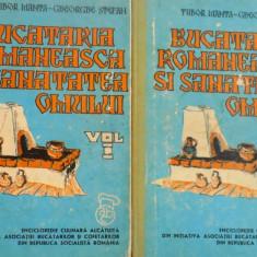 BUCATARIA ROMANEASCA SI SANATATEA OMULUI VOL. I - II-TUDOR MANTA, GHEORGHE STEFAN - Carte Retete traditionale romanesti