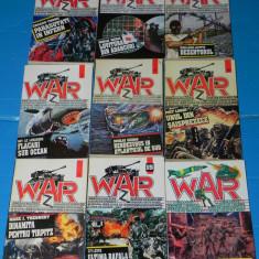 Lot 9 colectia war Z razboi NR 3, 5, 6, 7, 8, 10, 11, 15, 98 - DOUGLAS REEMAN - Carte de aventura