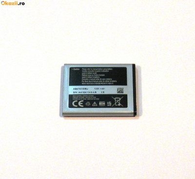 Acumulator Samsung D780   i550   i8510   B5722   i5500 cod AB474350BU foto