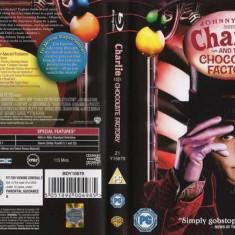 Vand BluRay Disc Original - Filmul Charlie si Fabrica de Ciocolata