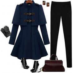 BL617-4 Palton model army - Palton dama, Marime: M/L, M, S/M, S