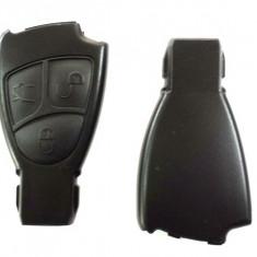 Carcasa cheie carcasa Mercedes 3 butoane