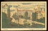 Cumpara ieftin Carte postala, Bucuresti, Calea Victoriei, biserica Zlatari.  1916, feldpost