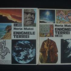 HORIA MATEI - ENIGMELE TERREI 2 volume - Carte paranormal