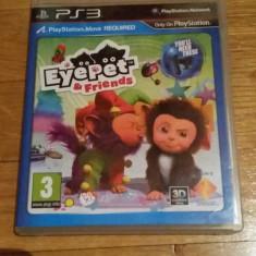 JOC PS3 EYE PET & FRIENDS ORIGINAL / MOVE obligatoriu / by WADDER - Jocuri PS3 Sony, Simulatoare, 3+, Multiplayer