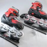 Role vara/patine iarna - reglabile  34 - 37 - montura rolelor este metalica