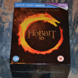 Film - Hobbit Trilogy Theatrical [Blu-ray 3D + Blu-ray + UV Copy 12 discuri]