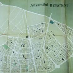 Bucuresti Ansamblul Berceni 1980 harta