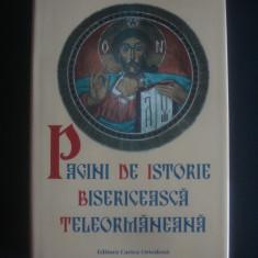 PAGINI DE ISTORIE BISERICEASCA TELEORMANEANA 1996-2006 - Carti ortodoxe