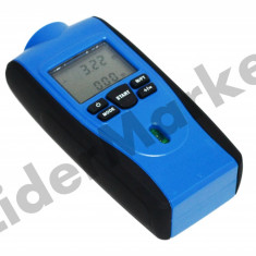 Ruleta digitala - aparat masura - cu ultrasunete, pointer laser si afisaj LCD - Ruleta masura