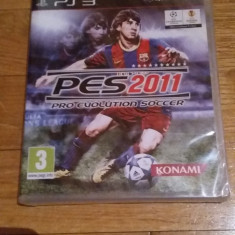 JOC PS3 PES 2011 PRO EVOLUTION SOCCER SIGILAT ORIGINAL / by WADDER - Jocuri PS3 Sony, Sporturi, 12+, Multiplayer