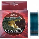 Guta, Nylon Aqua Crocodile Match & Feeder 150m - 018mm/ 0, 22mm/ 0, 25mm -12kg - Fir Pescuit Baracuda, Monofilament