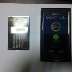 Smartphone Samsung Galaxy S2 Plus I9105P NFC Blue - Telefon Samsung, Negru, 8GB, Orange, Single SIM, Dual core