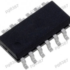 Circuit integrat L6386ED, driver high - low side, ST Microelectronics - 002522