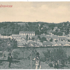 718 - Caras-Severin, ORAVITA, panorama - old postcard - used - Carte Postala Banat 1904-1918, Circulata, Printata