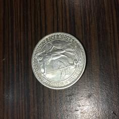 Moneda 2 Pounds Elizabeth Britannia Anglia argint .958, Europa