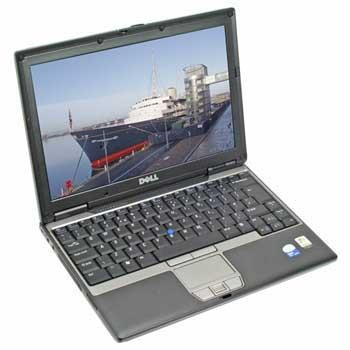 Laptop second Dell Latitude D420 Core Duo U7600 1g ddr2 80gb foto