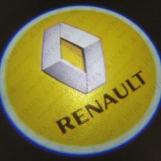 Proiector laser cu logo/marca pentru iluminat sub usa RENAULT