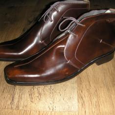 Superbe ghete elegante TED BAKER originale noi piele speciala 42 ! - Ghete barbati Ted Baker, Culoare: Maro, Piele naturala