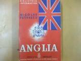 Nicolae Petrescu Anglia societatea statul civilizatia Bucuresti 1939